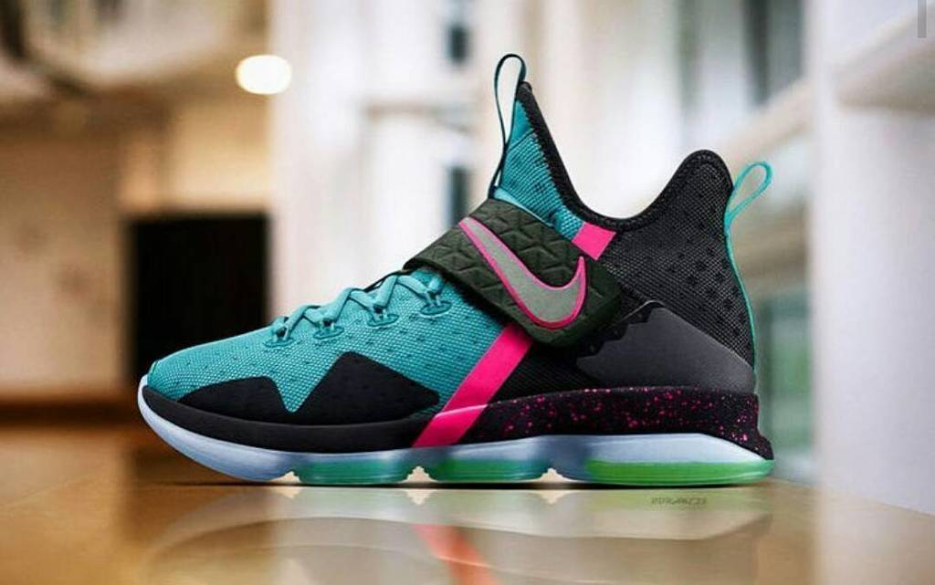Nike Lebron 14 South Beach #southbeach14 #lebronjames #nikelebron14  #southbeachlebron @ki…