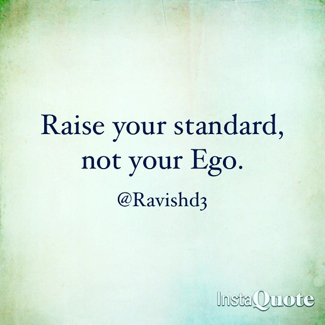 Raise your Standards!  #Mylifequotes #quote #quotes #quoteoftheday<br>http://pic.twitter.com/TUncjR6mWi