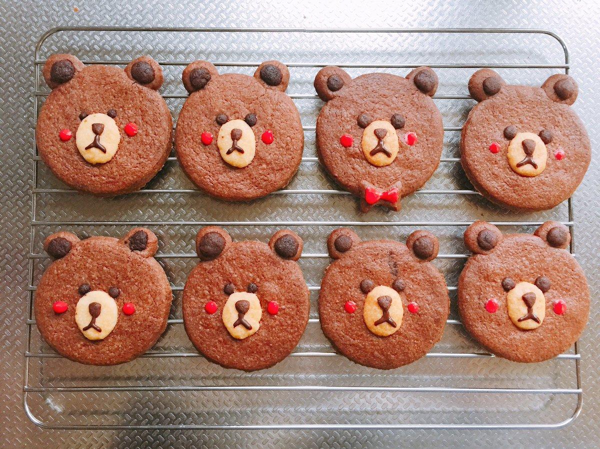 LINEのブラウン❤︎ クッキー作ってみた!上出来❤︎