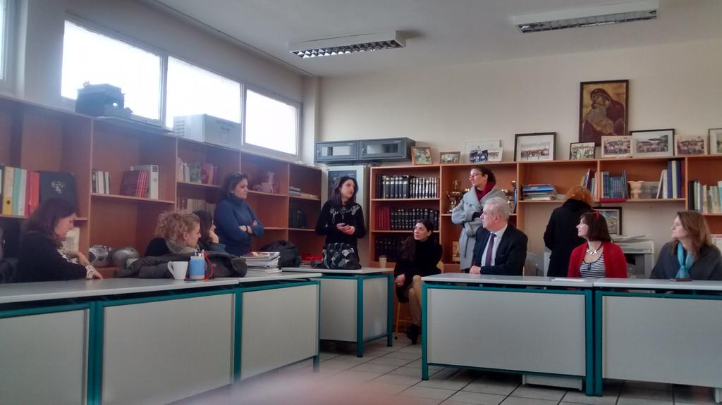 The Ralleia School is linked to the university of Athens & staff also mentor teachers in rural settings. #TAEAthens https://t.co/W8QLy1bsug