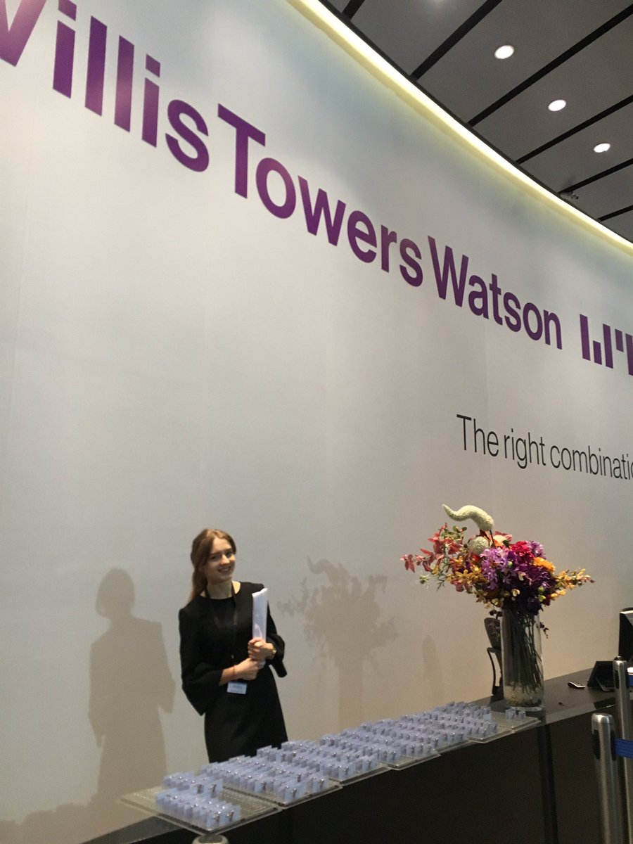 We look forward to seeing you all soon at @WTW_uk for #InsiderLondon! Not long to go! https://t.co/q0hS0dNUCX