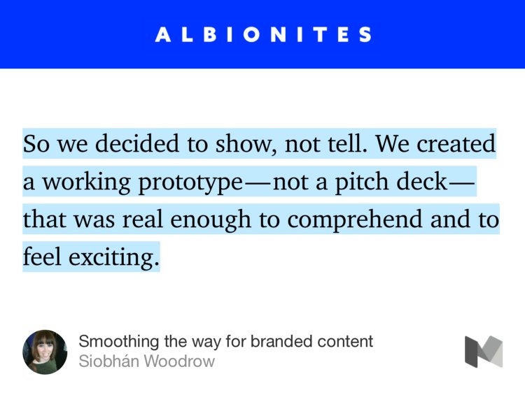 """Smoothing the way for branded content"" — @sibslock https://t.co/MzG2ZzfIsc https://t.co/mJPJIgloDy"