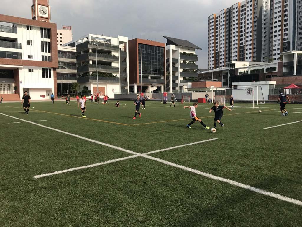 ACSIS U11 Soccer ⚽️ @ISSsingapore  0-1 @SAmericanSchool #isspride https://t.co/zAV4gLJx6M