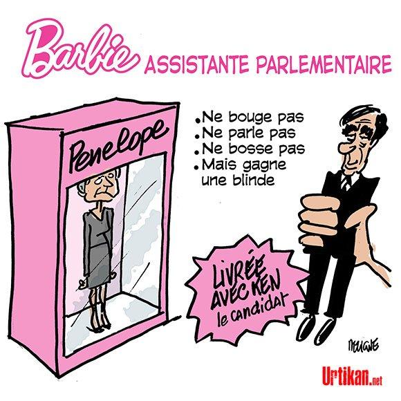Une idée cadeau pour la Saint-Valentin #DessinDuJour de @fdeligne #Fillion #francoisfillon #Penelope #CanardEnchaine  http://www. urtikan.net/dessin-du-jour /une-idee-cadeau-pour-la-saint-valentin/ &nbsp; … <br>http://pic.twitter.com/M5ZN7adYQ9