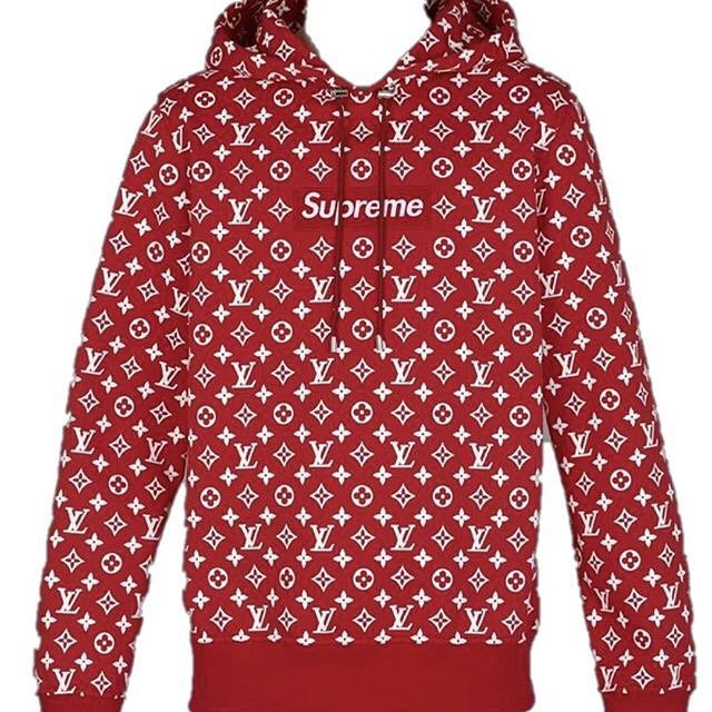 By Louis Vuitton Supreme Sweatshirt Jaguar Clubs Of