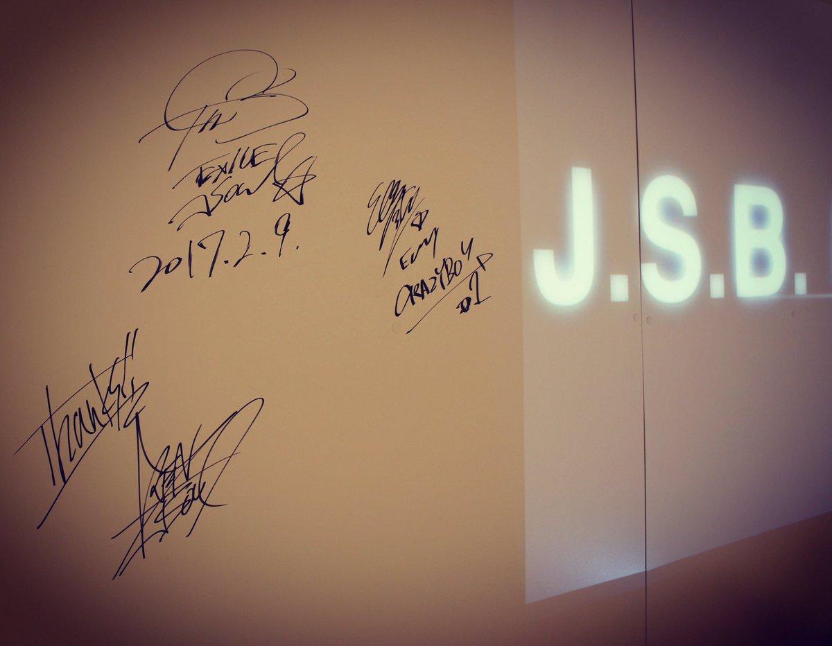 J.S.B.SPECIAL LIMITED STORE NAGOYAに三代目 J Soul Brot…