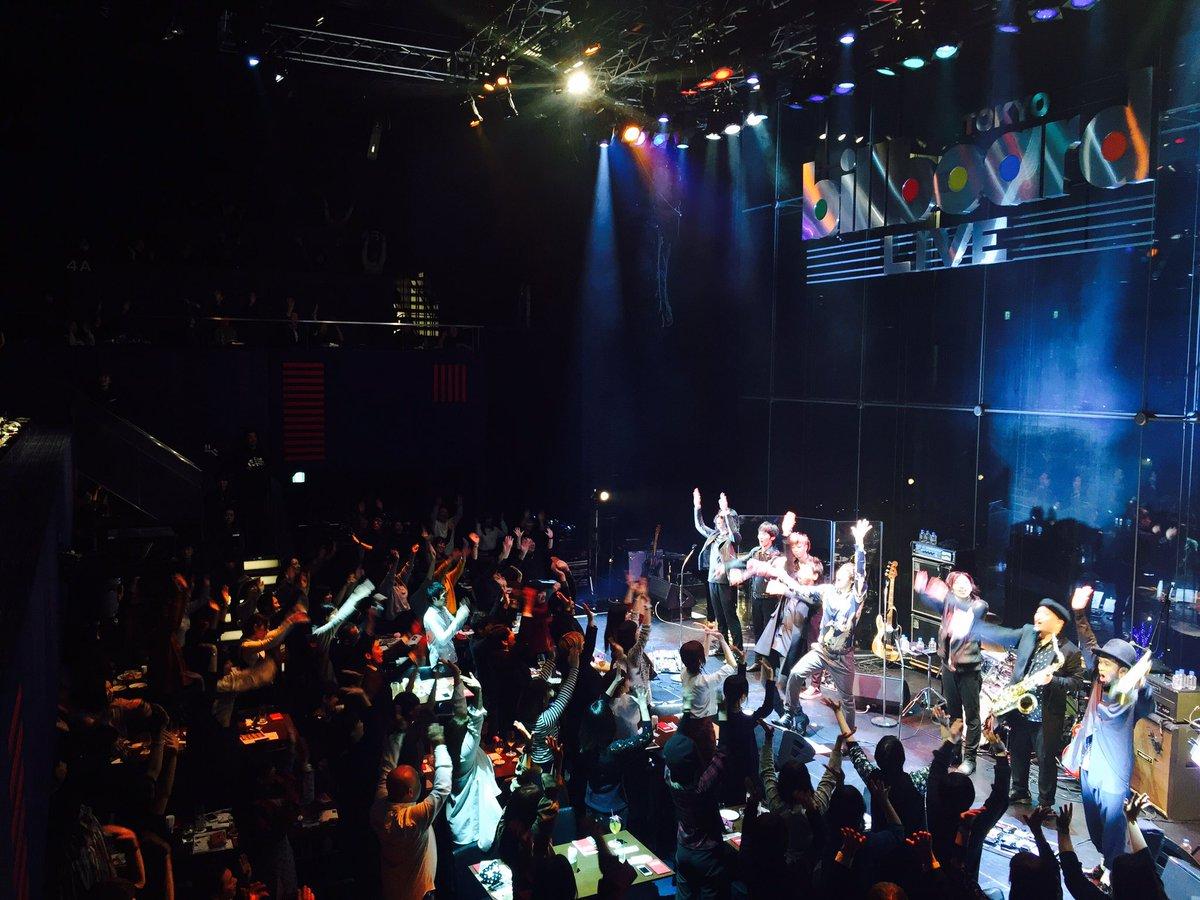 ビルボードライブ終了!! ご来場頂いた皆さんありがとうございました!! そしてLINELIVEをご覧…