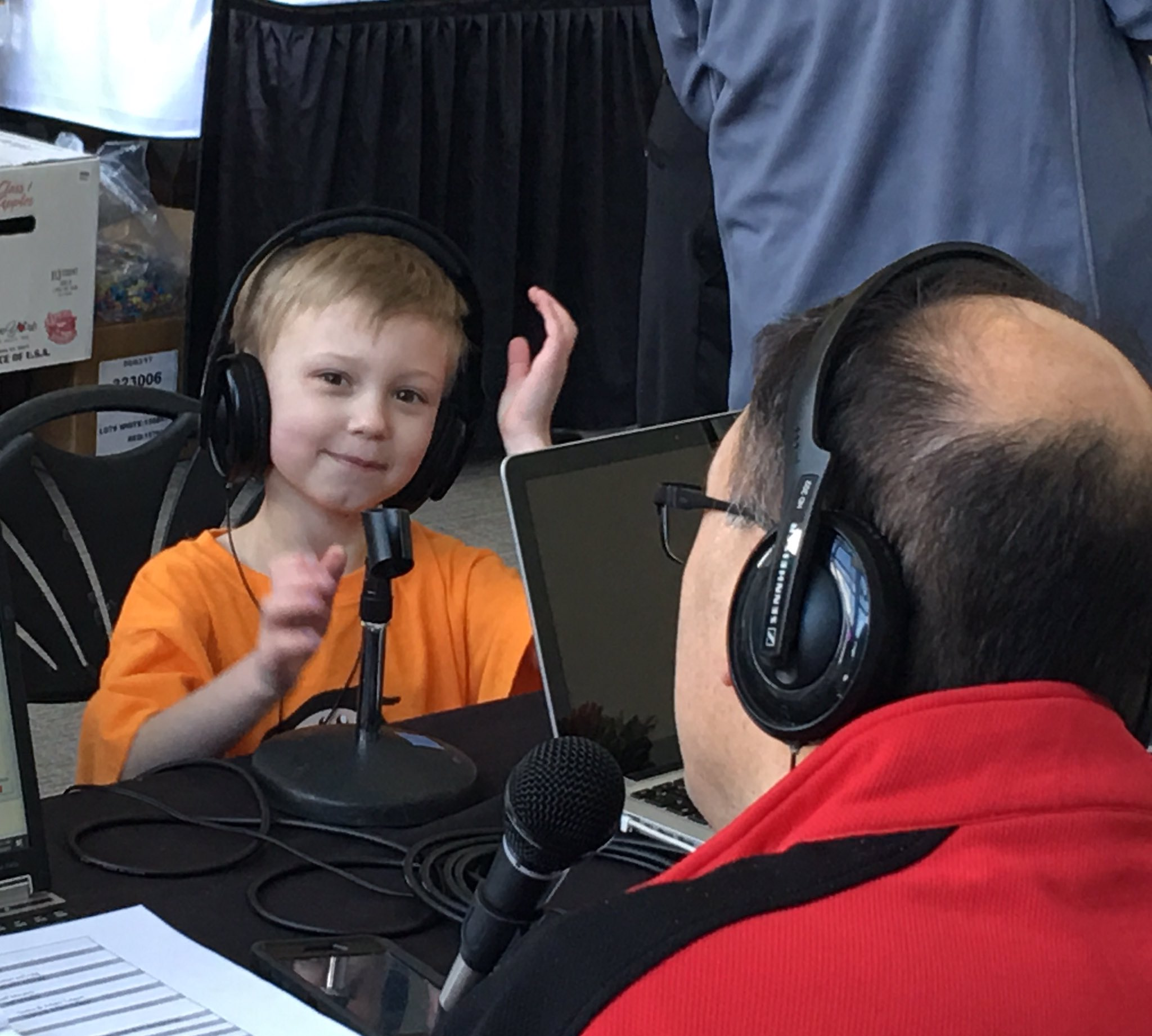 Miracle Kid Craig Winter and his mom, Kim, are sharing their story NOW on @1005THEDRIVE. #DriveForMiracles https://t.co/RxJFMK9ydB