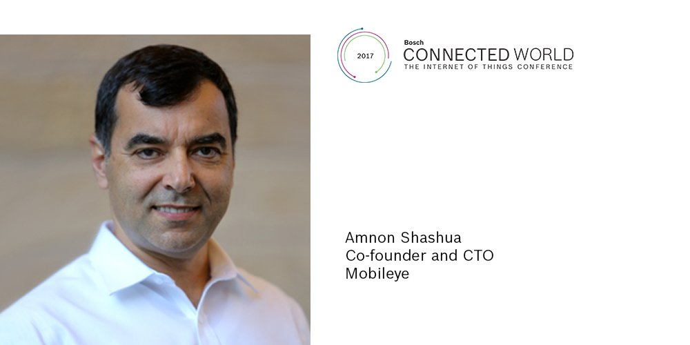 .@Mobileye co-founder and CTO Amnon Shashua takes the stage at #BCW17. Don't miss the keynote! https://t.co/ND6hZjo73c #IoT https://t.co/NaFNGpQ29m