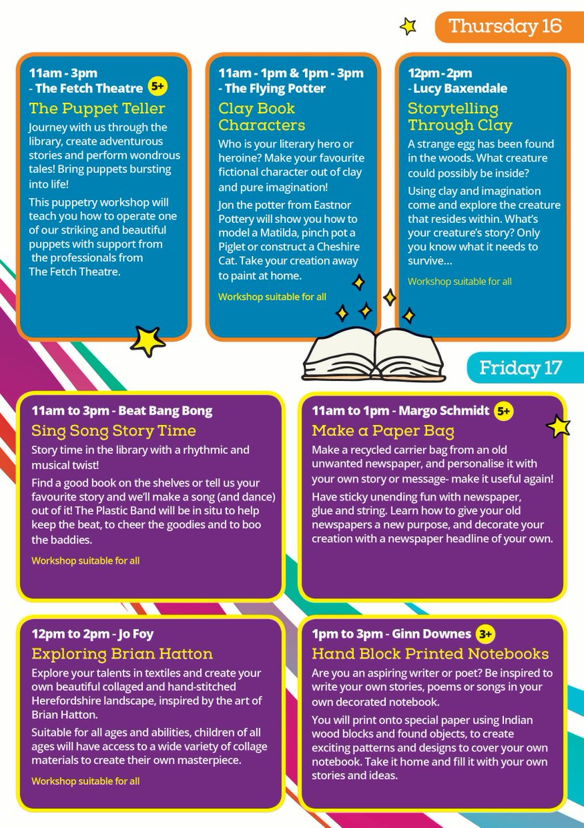 Free Creative Activities Are On Offer For Children At Hereford Library Museum During Half Term As Part Of The Vacation Creation Project Pic Twitter Com
