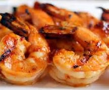 Honey Grilled Shrimp