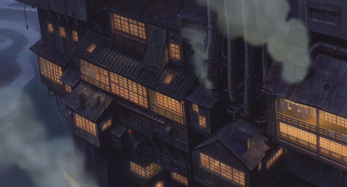 Tohad On Twitter Backgrounds From Spirited Away Sen To Chihiro No Kamikakushi 2001 Studio Ghibli