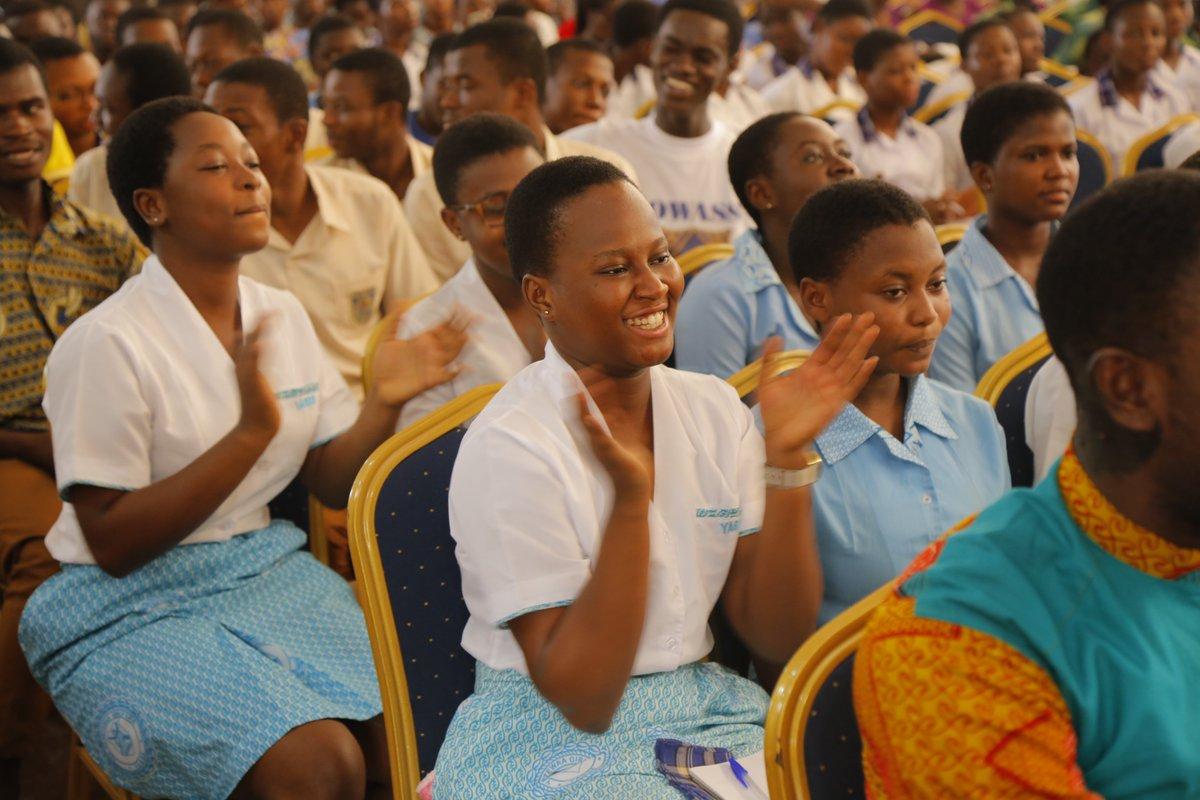 """NSMQ Ghana on Twitter: """"Congrats Yaa Asantewaa Girls' SHS on ..."""