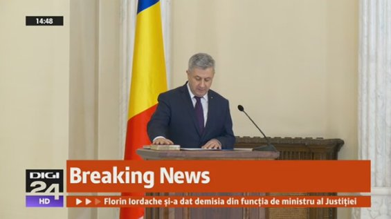 Romania: Minister of justice Florin Iordache resigned, people continued to demand the resignation of the entire Government