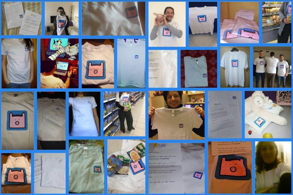#tifrutter siete stati tantissimi a #condividere le fantastiche magliette con il 🐷 e noi vogliamo dirvi un grande GRAZIE 💕!  #tifrutta https://t.co/fgZ8x6lcQ2