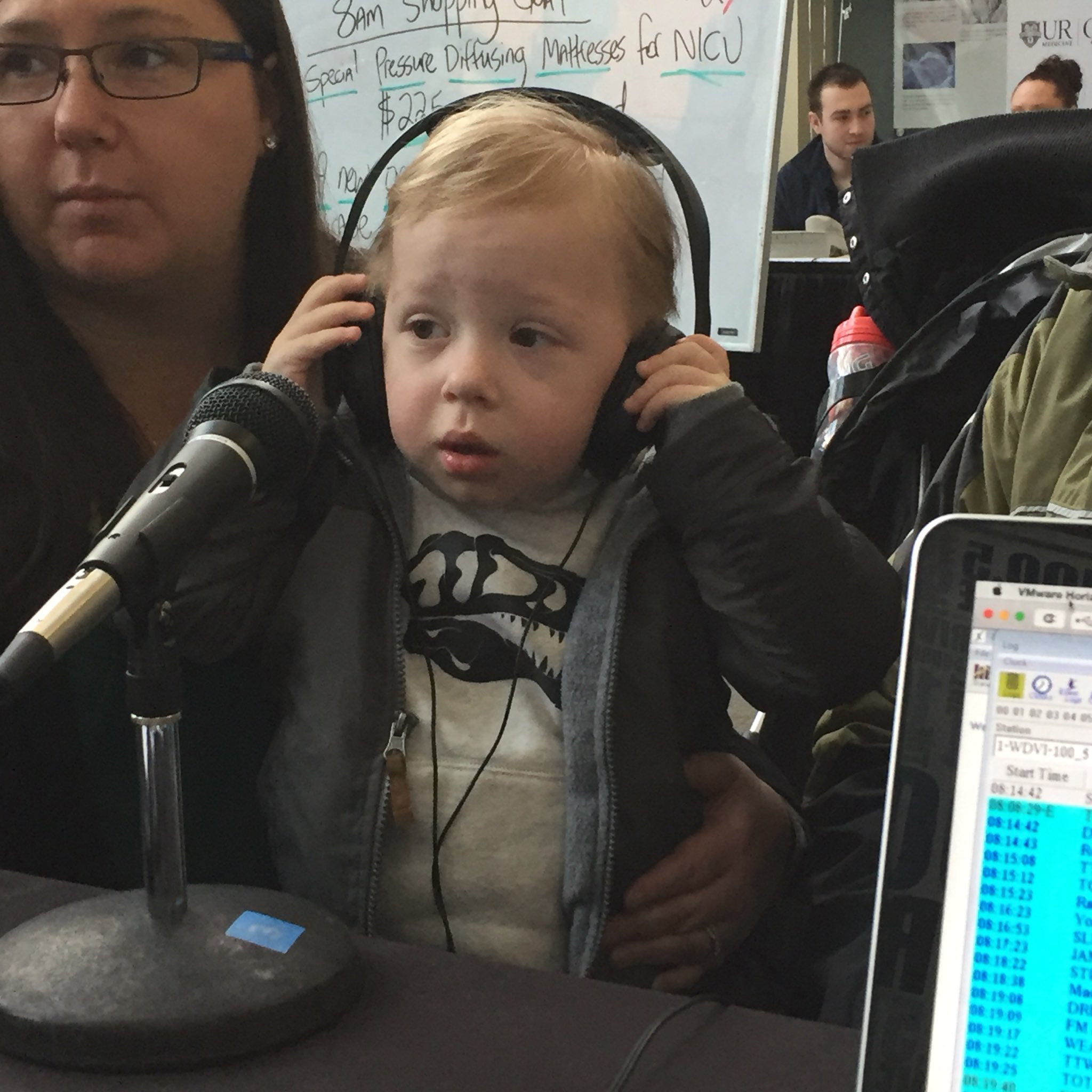 This is Ryan! He just turned three! But he wouldn't be here if it wasn't for your donations to @URMed_GCH - call 241-KIDS. #DriveForMiracles https://t.co/DKW5Hmq9kL