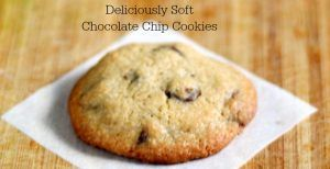 Deliciously Soft Chocolate Chip Cookies