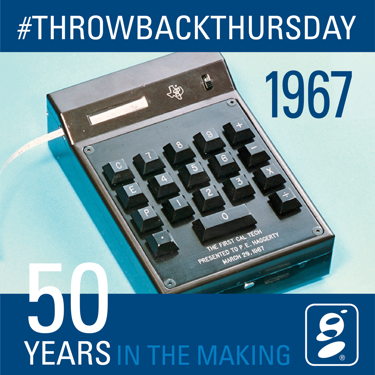 """The Company That Invented T: OpenEdge On Twitter: """"#TBT 1967: The First Handheld"""
