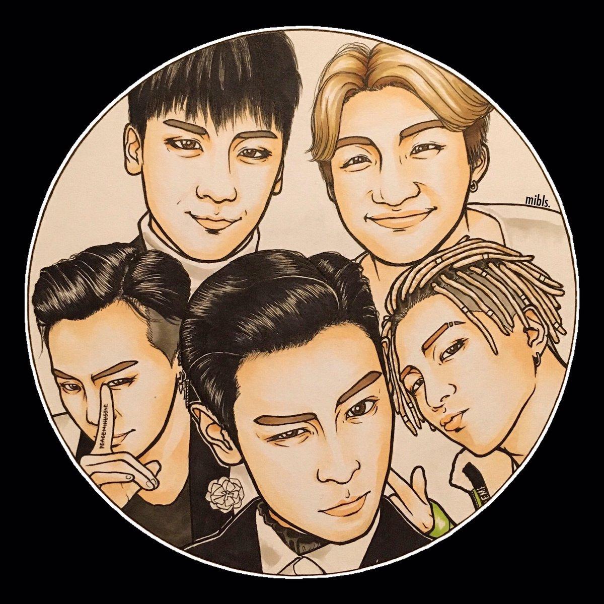 タプさん行ってらっしゃい😊✨ #BIGBANG  @IBGDRGN  @Realtaeyang ✨