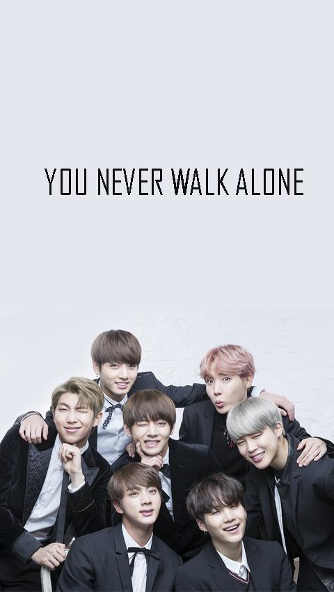 Han On Twitter You Never Walk Alone Bts Bts Lockscreen