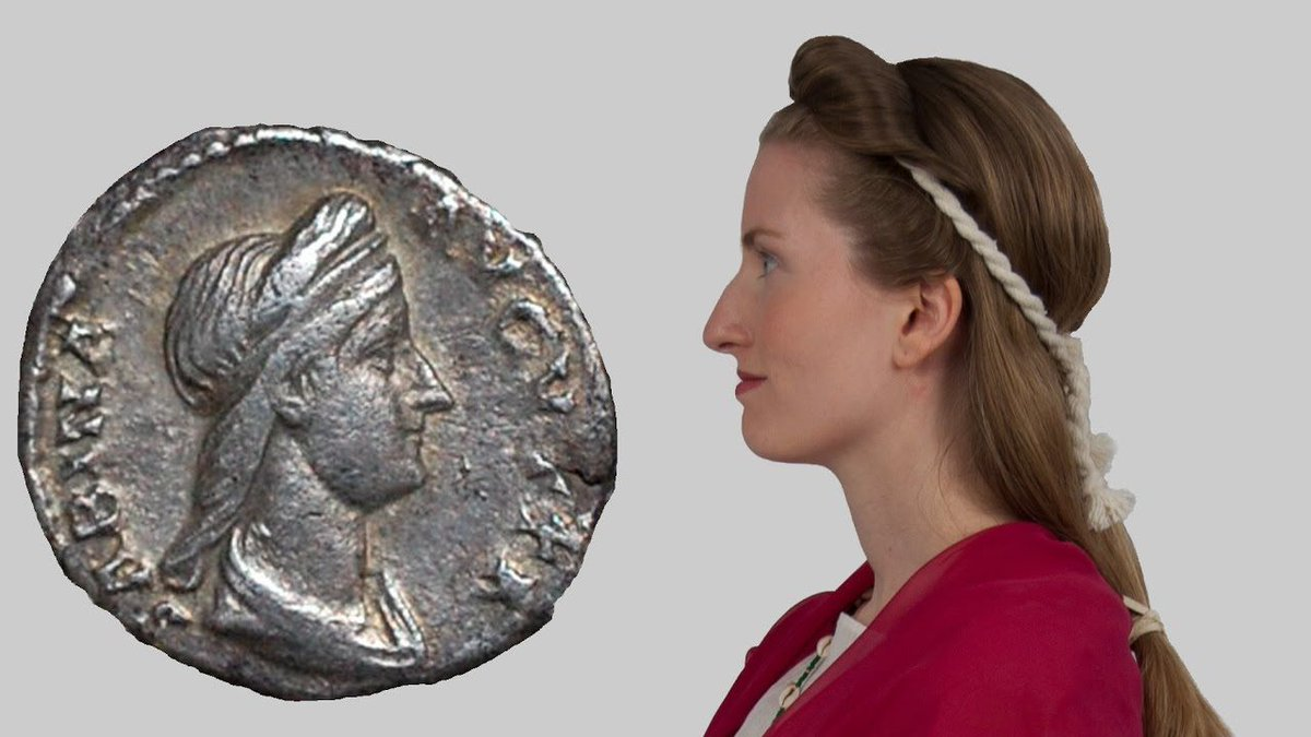 "The latest from hair archaeologist Janet Stephens - The ""Juno"" hairstyle of Empress Sabina https://t.co/3GPXOE3rDr https://t.co/rnC9qVZUYy"