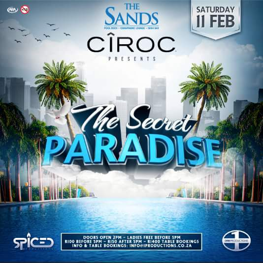 11.02.17 @TheSands011 #EntGuideSA | @SpicedPro @oneproductionss https://t.co/i2ddWUhVPw