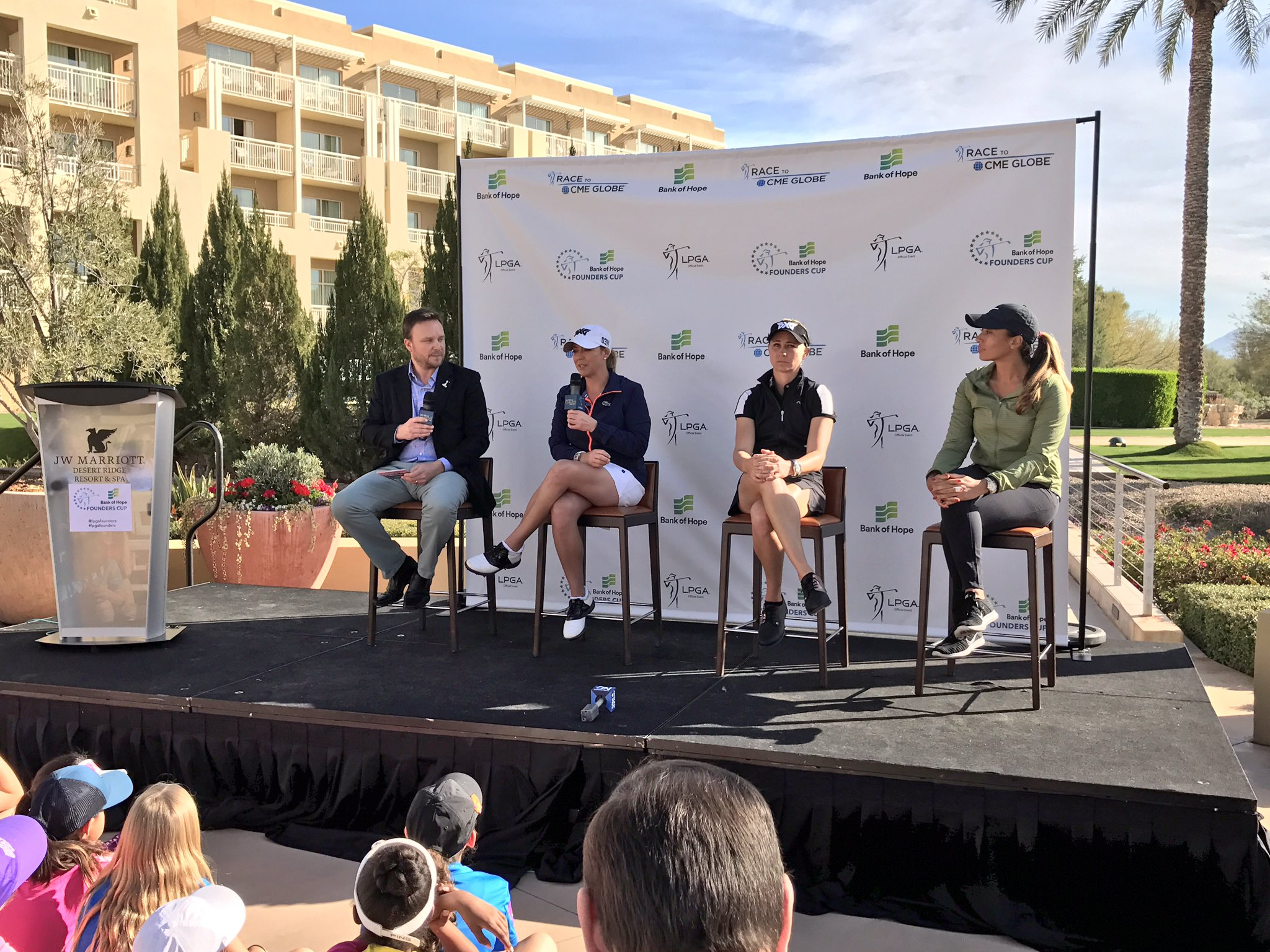 Thumbnail for Kerr, O'Toole, Woods Participate in Founders Cup Media Day