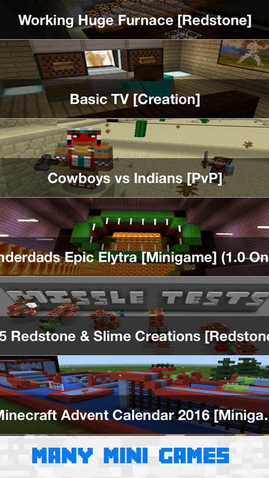 free minecraft pe games