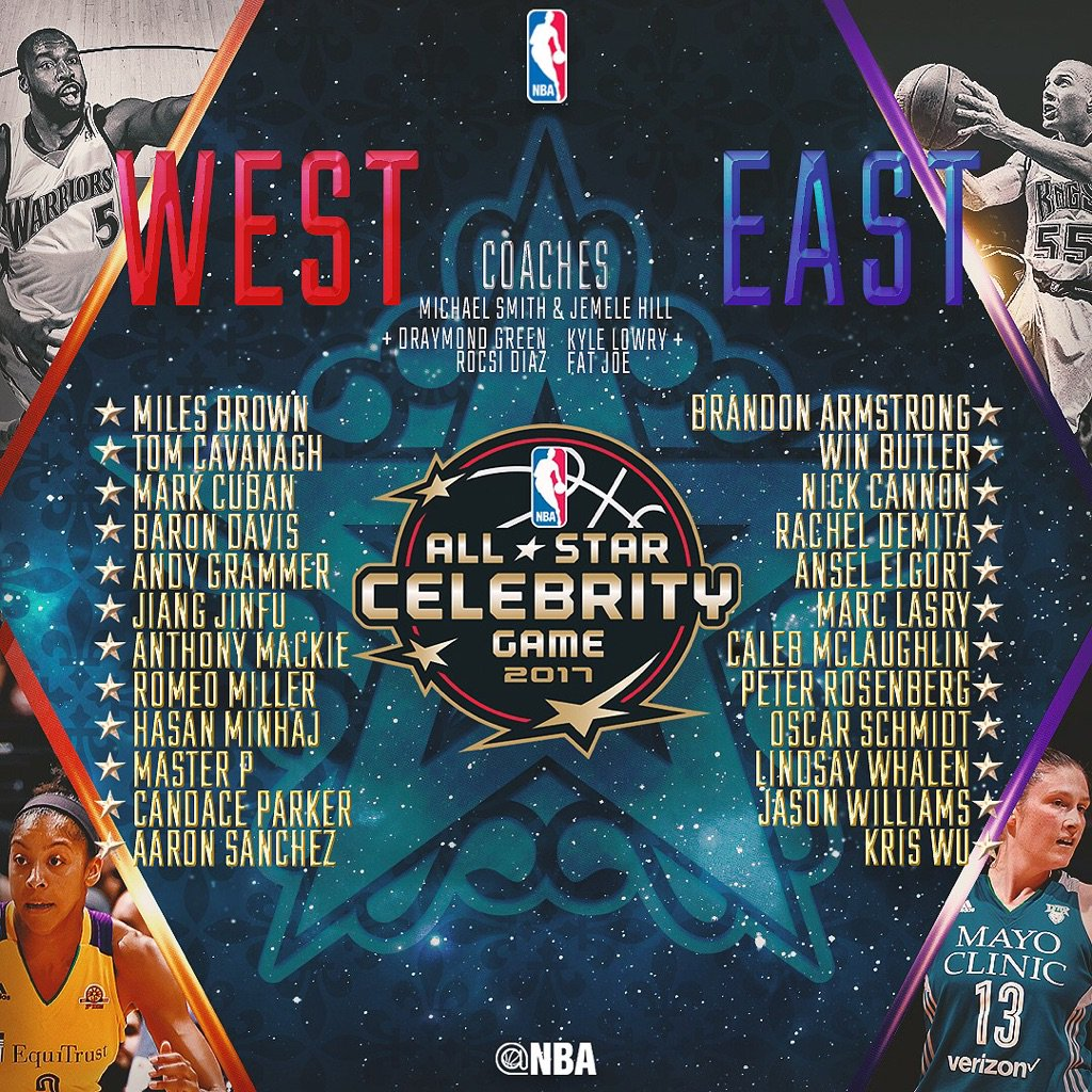 NBA celebrity All-Star game | FOX Sports