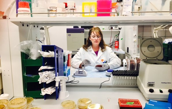 Straight out of our SMART labs, Sharon is an #ActualLivingScientist fighting back against #antibiotic resistance, 1 petri dish at a time! https://t.co/aYDzEbgLG7