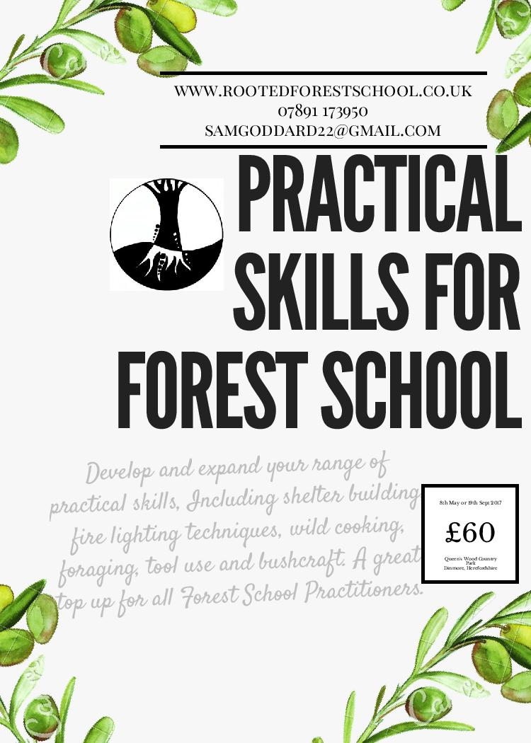 Develop your practical skills for #forestschools with our practical 1 day course - Herefordshire - £60 in partnership with @HerefordshireWT<br>http://pic.twitter.com/mdDUcxD5ET