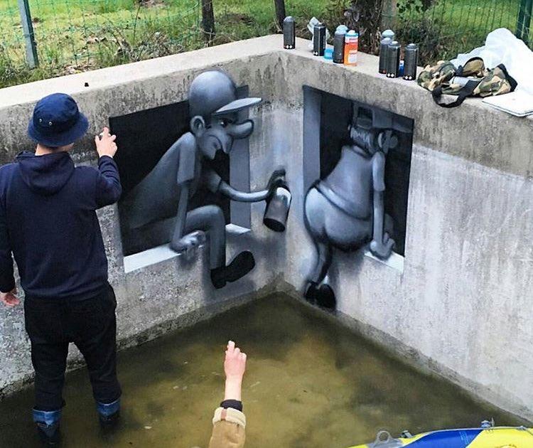 Fork_One Street Art