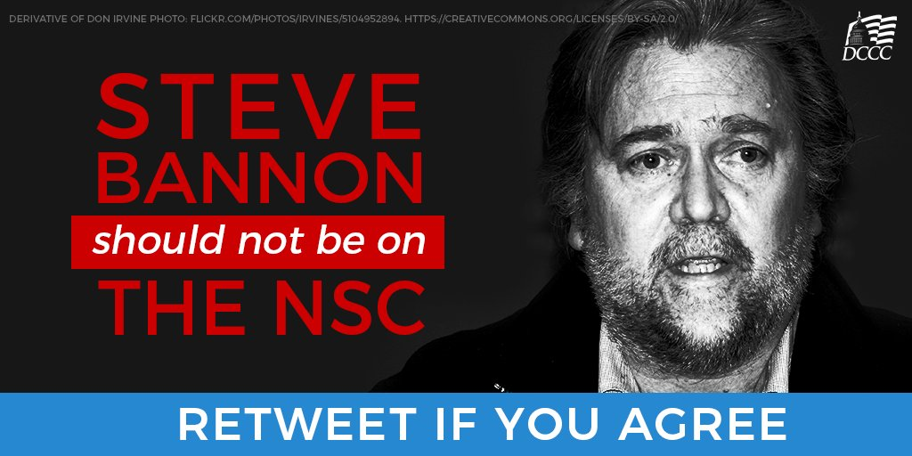 ACTION NEEDED: Help us kick Steve Bannon off the National Security Council: https://t.co/r4CqbXjgfa https://t.co/ll1DEGfJnS