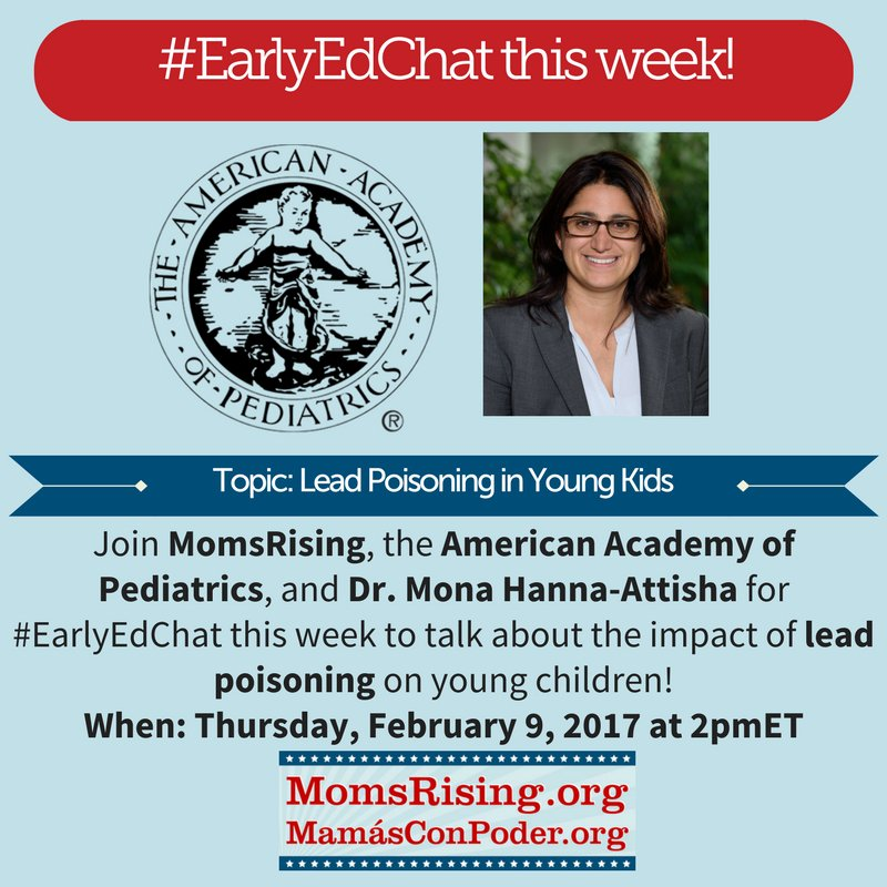 Thumbnail for #EarlyEdChat 2/9/2017 with Dr. Mona Hanna-Attisha & the American Academy of Pediatrics