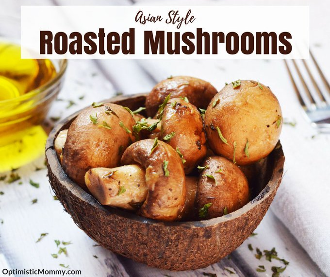 Asian Style Roasted Mushrooms Recipe