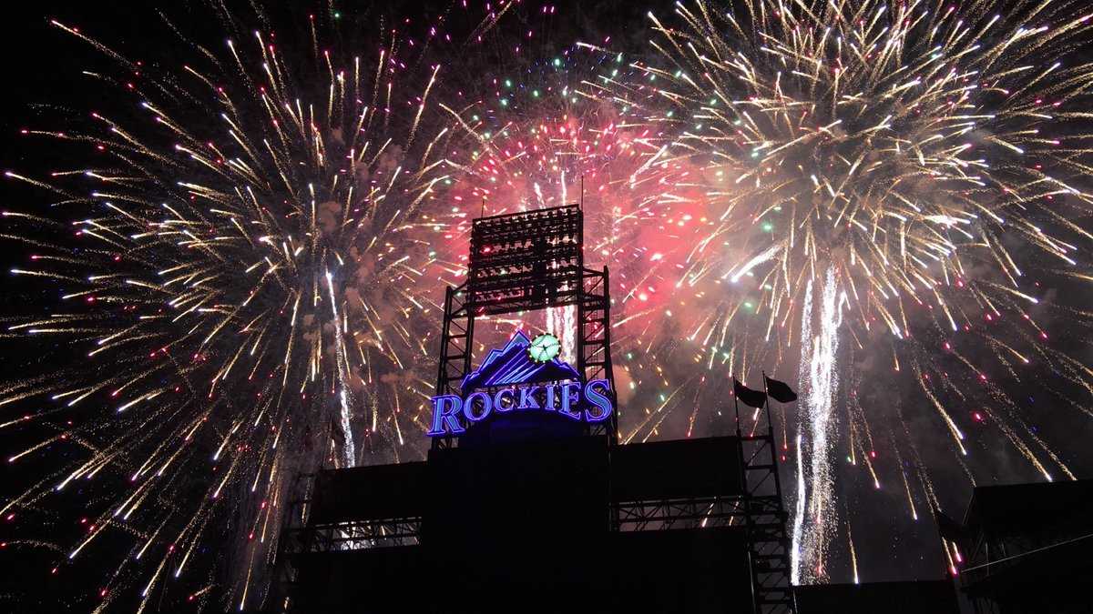 @Rockies #RoxLock #Rockies my first fireworks game this past season  <br>http://pic.twitter.com/7dJwt3LkPJ