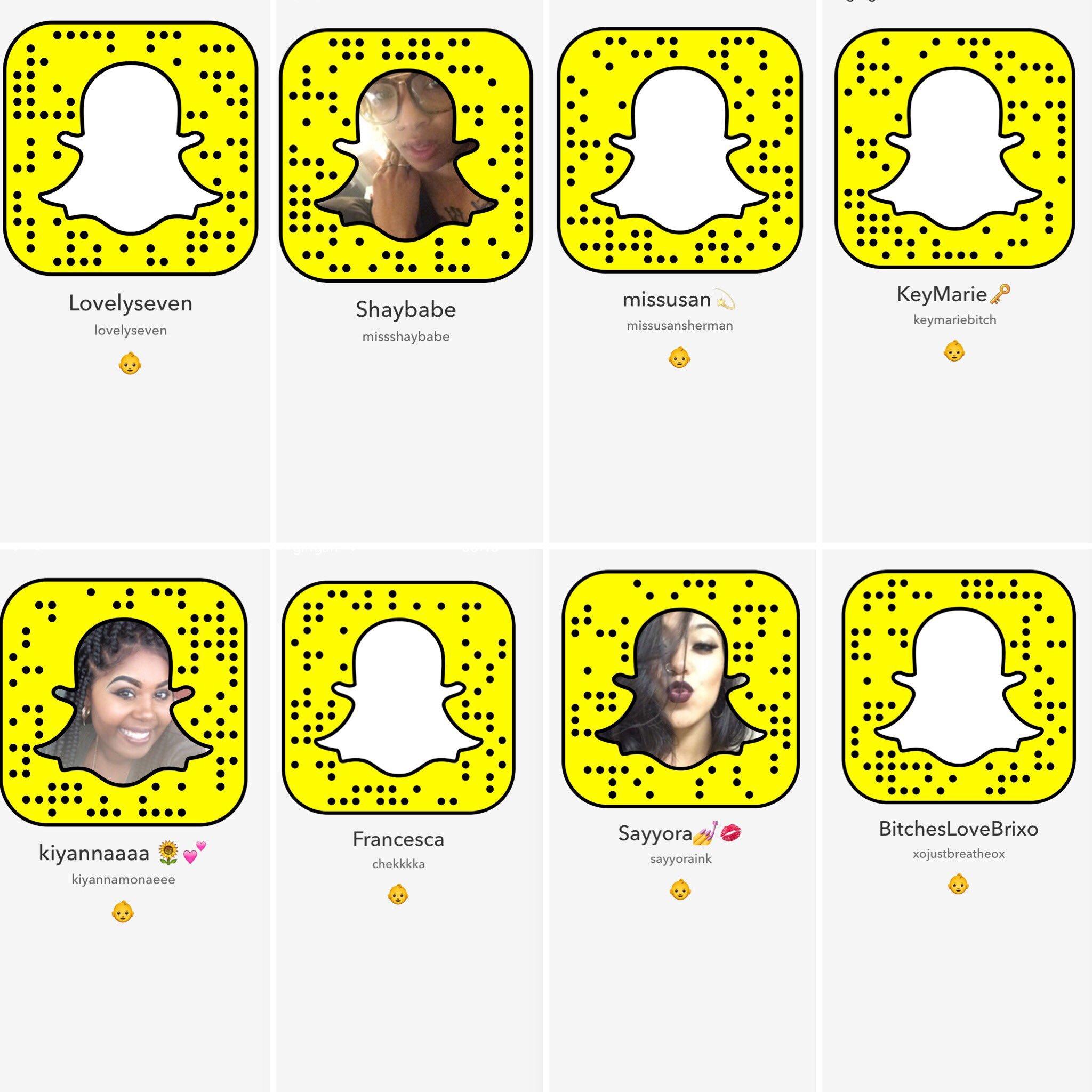 Bgc snapchat from seven Bad Girls