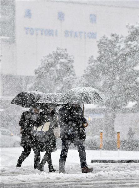 西日本の日本海側や北陸の山沿いで大雪 強い寒波、新幹線や在来線に影響も sankei.com/wes…