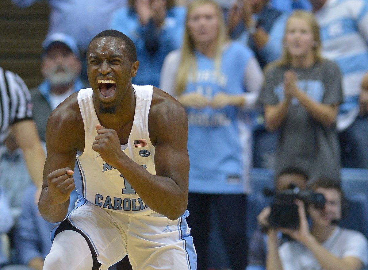 BREAKING: North Carolina's Theo Pinson will be available to play tonight against Duke.  UNC is 6-0 when Pinson plays this season.