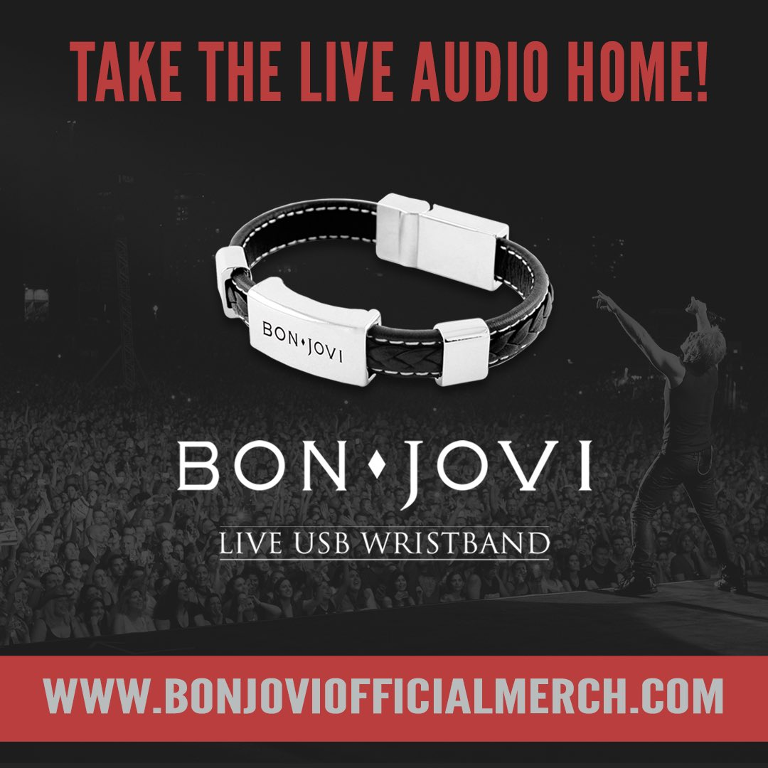 Bon jovi one week to the #thinfstour! Are you ready?? Download.