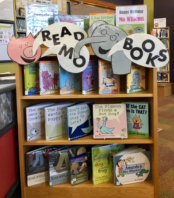 Happy Birthday, Mo Willems!  #