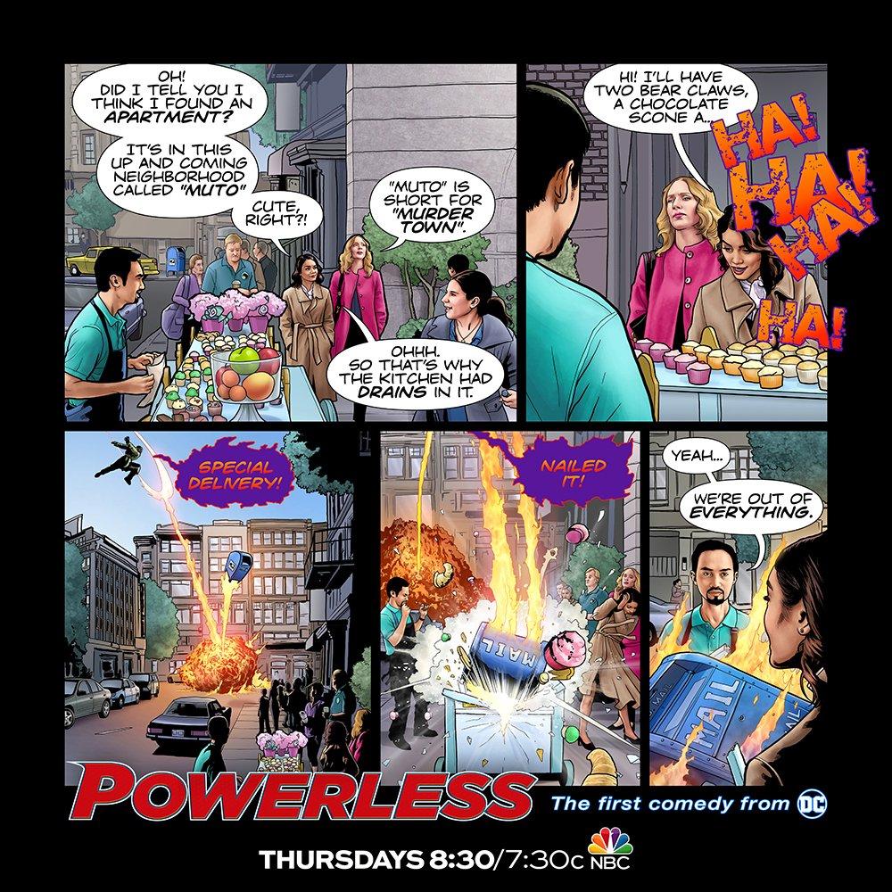 Ratings Review: POWERLESS (Season One)
