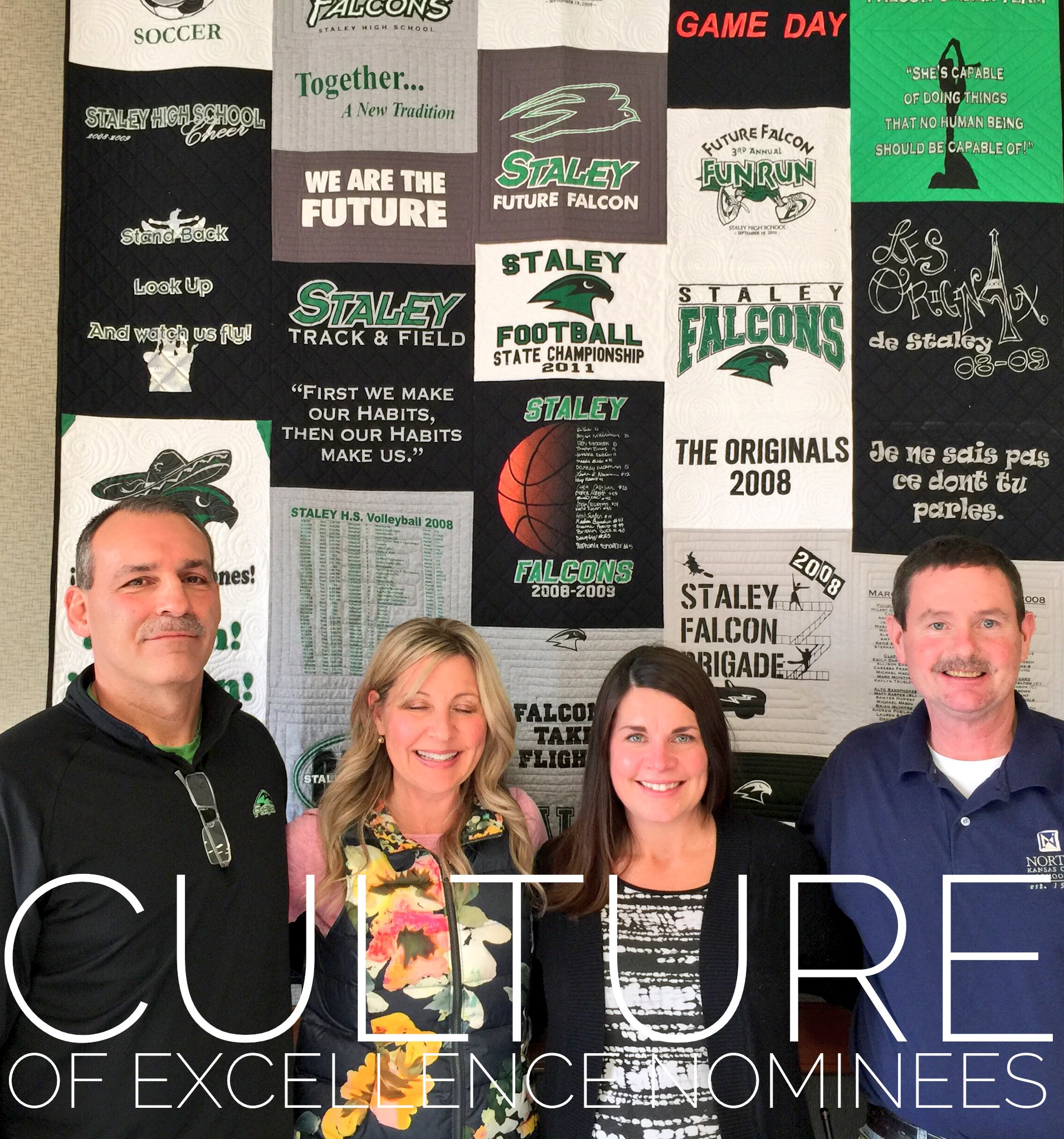 @SHSFalcons announce Culture of Excellence nominees as part of the State of the School Address. Congrats to these 4 outstanding Falcons. https://t.co/rsRscp695A