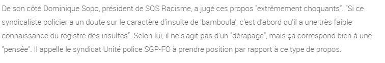 """""""Bamboula"""", une insulte """"à peu près convenable"""" : les associations antiracistes montent au créneau via @lci https://t.co/set67zbWzT https://t.co/y4ELW8uYyc"""