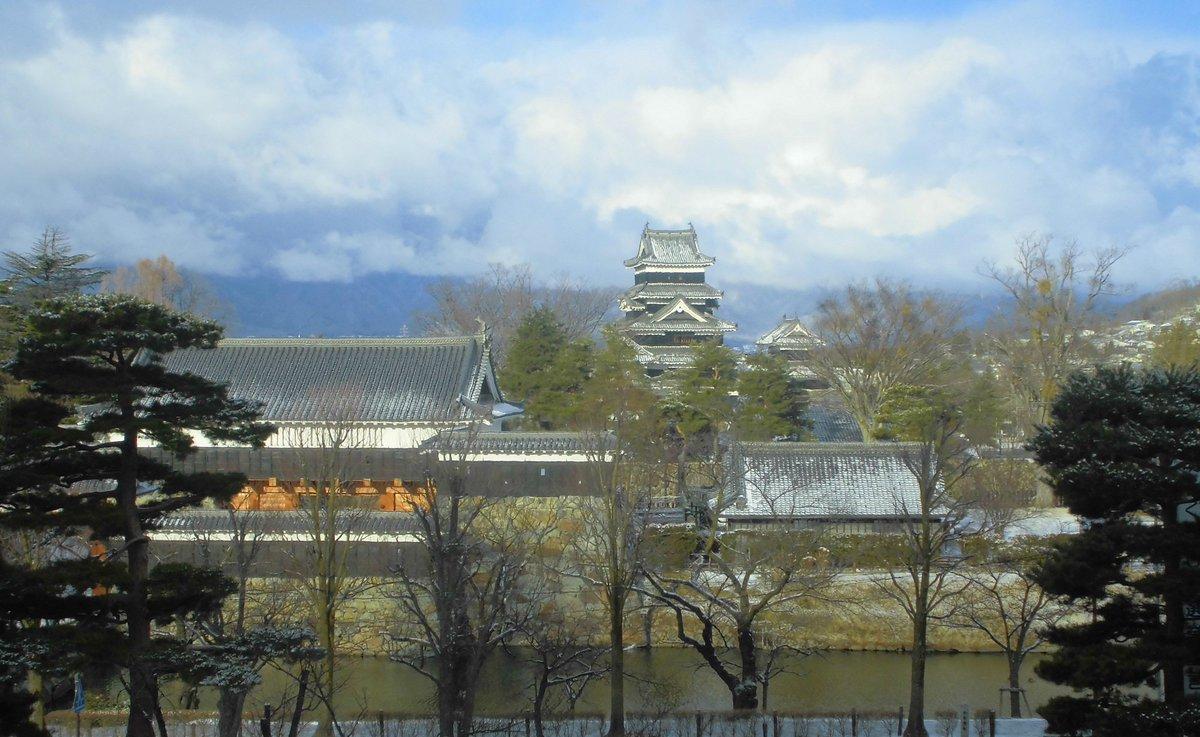2月10日 午前8時30分 国宝松本城