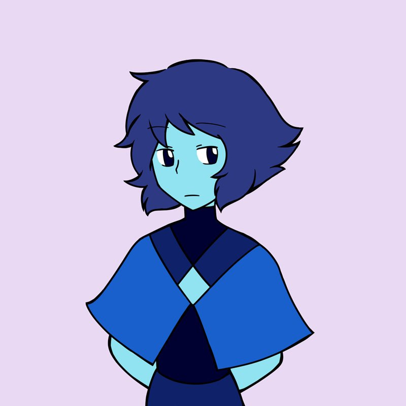 """I want to see Lapis wearing like this 👌"""