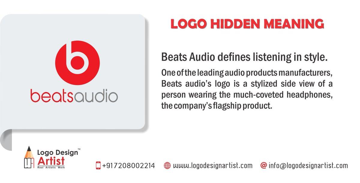 Logo Design Artist On Twitter Logo Hidden Meaning Beats Audio Defines Listening In Style Logoinspiration Logodesign Logohiddenmeaning Beatsaudio Https T Co Vksjdjf6oo