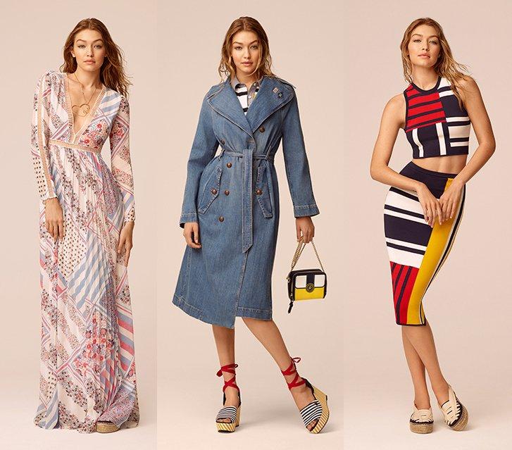 [本日発売]トミー ヒルフィガー×モデルのジジ・ハディッド、コラボコレクション第2弾 fashion…