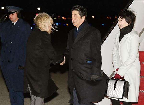 安倍首相、米国入り 明日トランプ氏と首脳会談 sankei.com/politics/news/… …