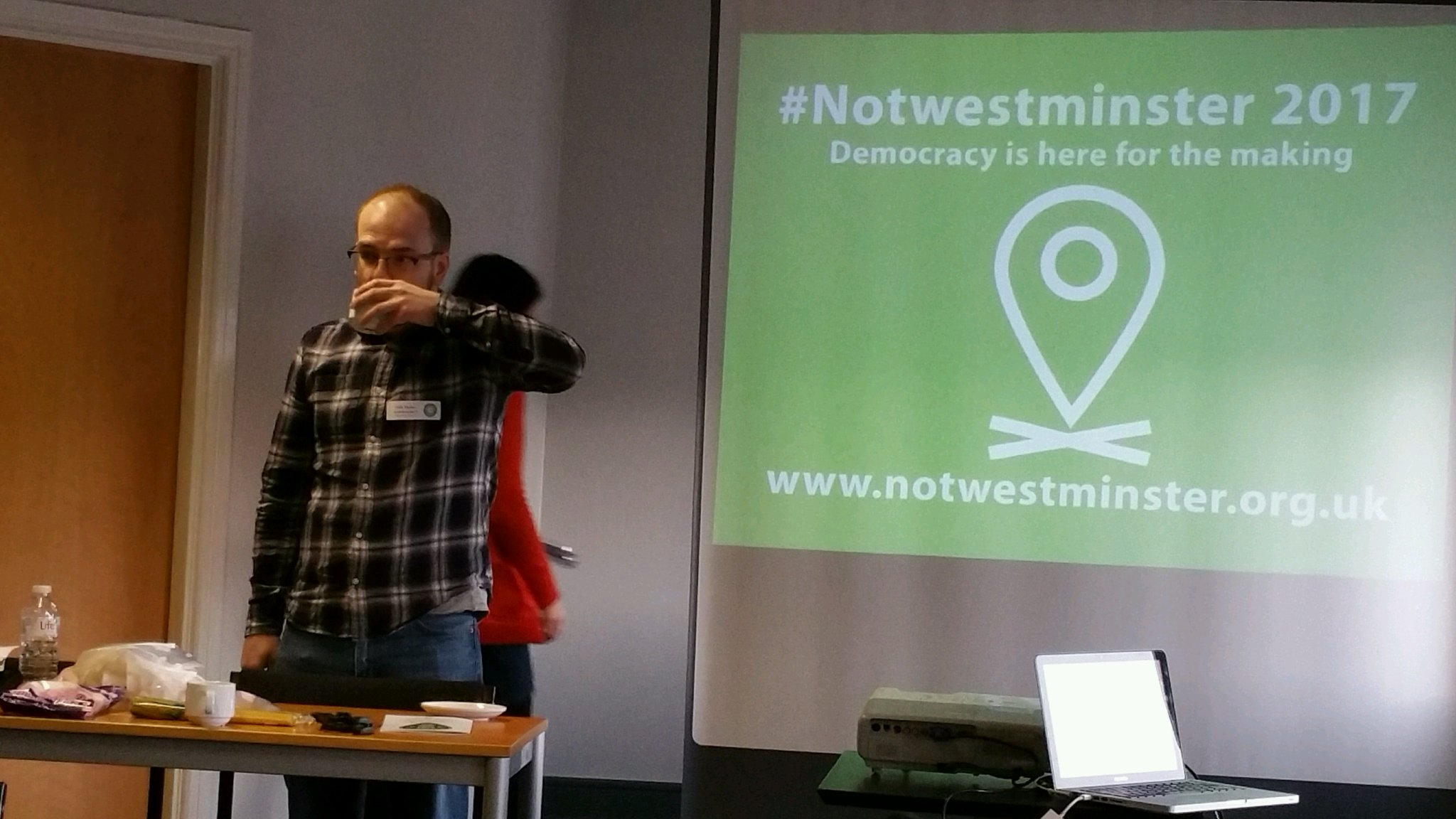 All ready for #notwestminster (@ The Media Centre in Huddersfield, UK) https://t.co/2co2hxwLgy https://t.co/vEKHPcfaAJ